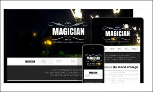 Magician - HTML5 WordPress Themes