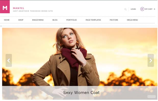 Mantel - Responsive eCommerce WordPress Theme
