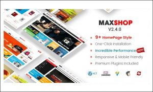 Maxshop - WordPress Themes for Cloth Stores