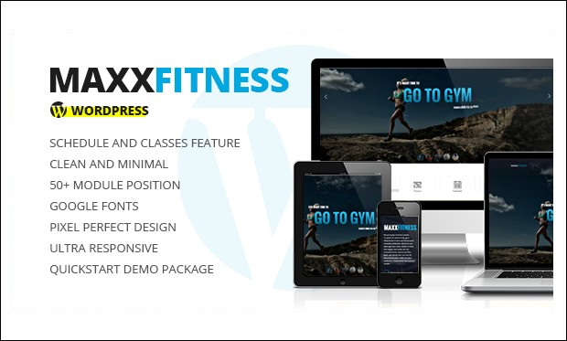 Maxx Fitness - Fitness and Gym WordPress Themes