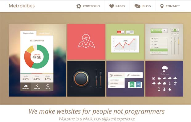 Metro Vibes - Responsive SEO Friendly WordPress Theme