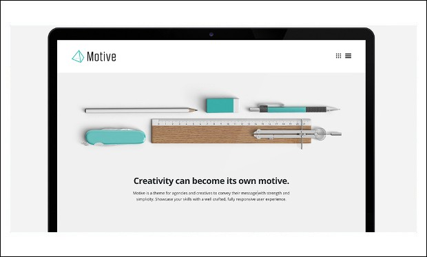 Motive - Architecture Portfolio WordPress Theme