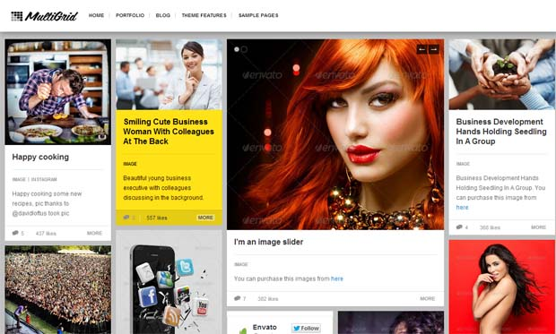 Multigrid - Responsive HTML5 WordPress Theme
