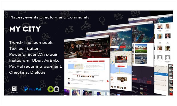 MyCity - SEO friendly WordPress Themes
