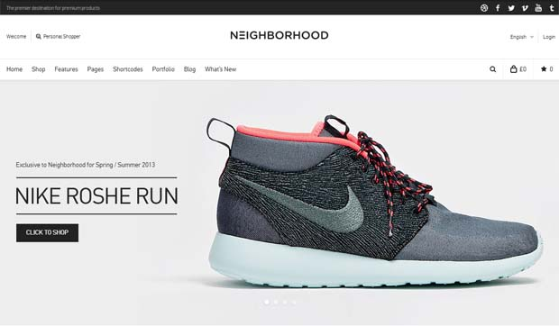 Neighborhood - Responsive eCommerce WordPress Theme
