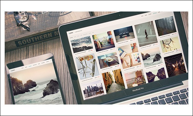 Oyster - Visual Artists WordPress Themes