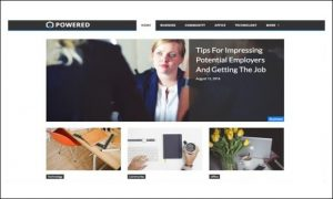 Powered - Responsive WP Themes