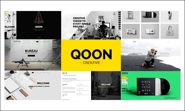 QOON - SEO friendly WordPress Themes