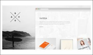 ROUA - Graphic Designer WordPress Themes