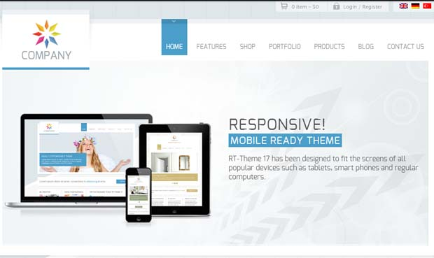 RT-Theme 17 - Responsive HTML5 WordPress Theme