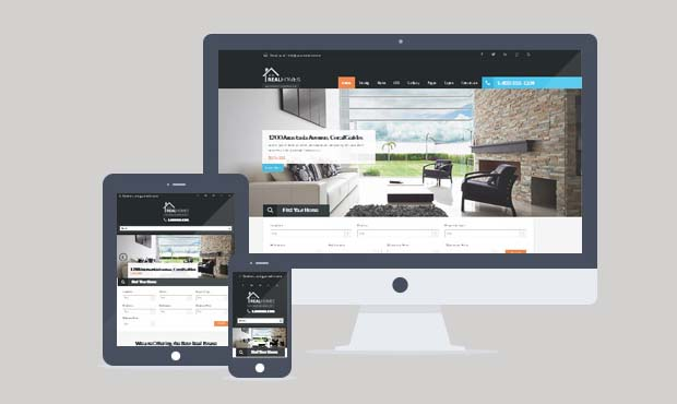 Real Homes - Commercial Real Estate WordPress Theme