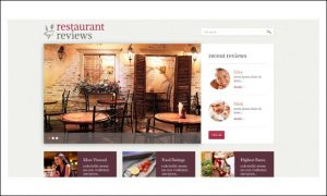 Restaurant Reviews - Review Websites WP Themes