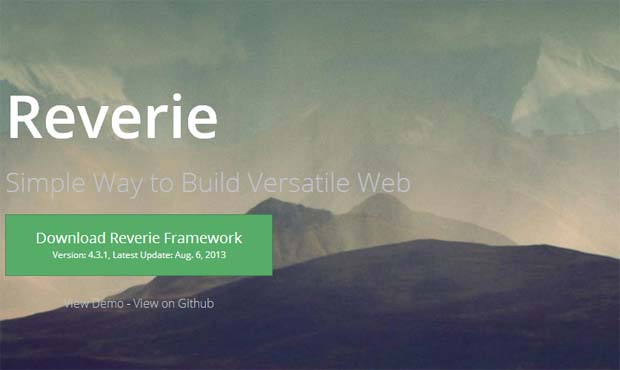 Reverie - Responsive HTML5 WordPress Theme