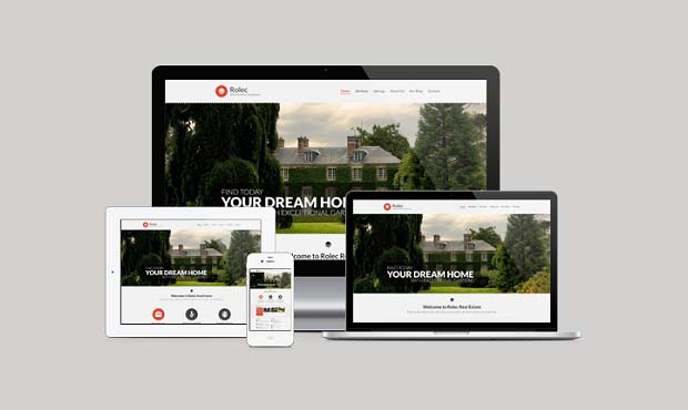 Rolec - Commercial Real Estate WordPress Theme