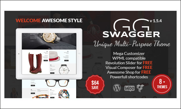 SWAGGER - WordPress Themes for Cloth Stores