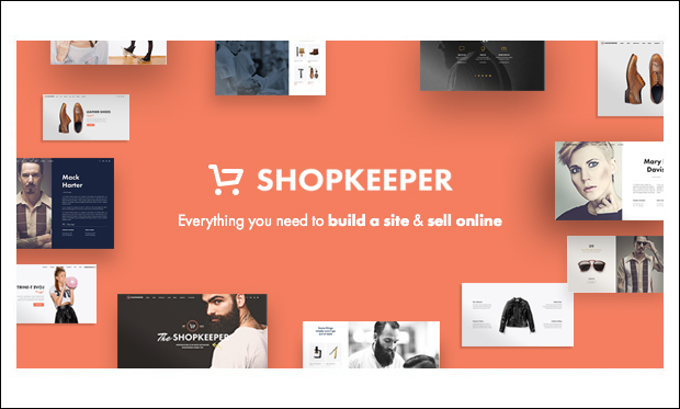 Shopkeeper - WordPress Themes for eCommerce Sites