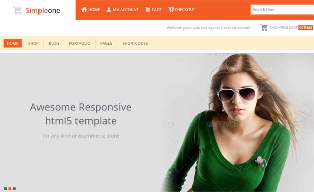 Simpleone - Responsive eCommerce WordPress Theme