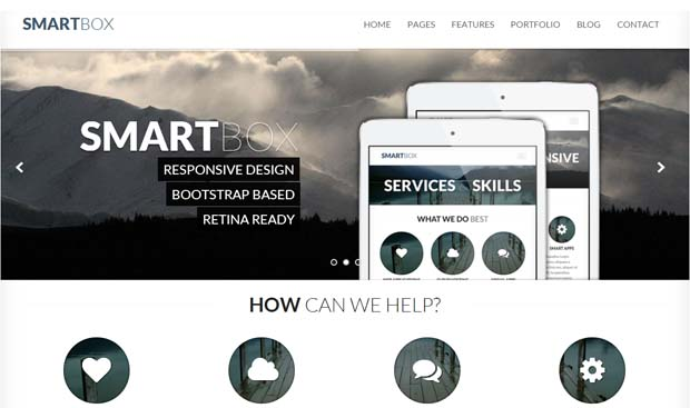 SmartBox - Responsive Bootstrap WordPress Theme