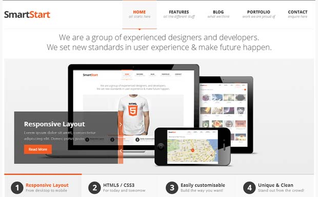 SmartStart WP - Responsive HTML5 WordPress Theme