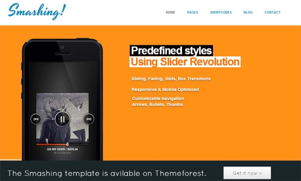 Smashing - Responsive HTML5 WordPress Theme