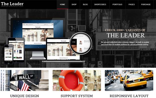 The Leader - Responsive eCommerce WordPress Theme