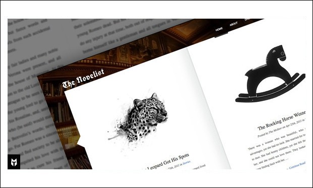The Novelist - Book Author WordPress Themes