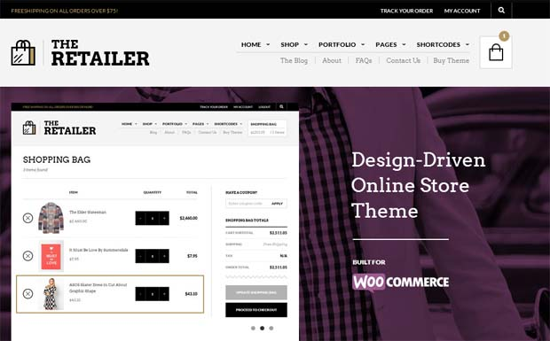 The Retailer - Responsive eCommerce WordPress Theme