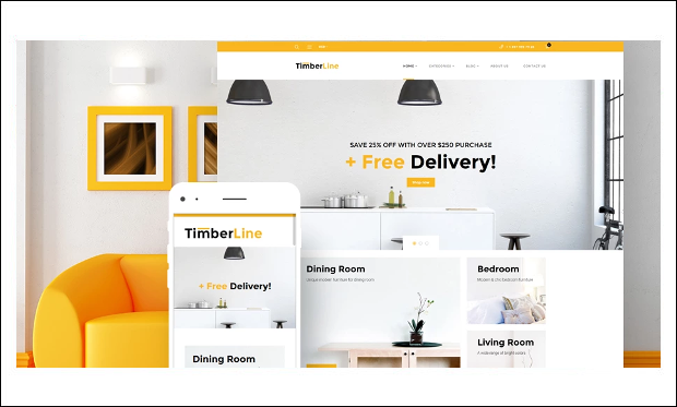 Timberline - WordPress Themes for eCommerce Sites