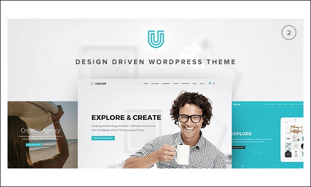 Unicon - Graphic Designer WordPress Themes
