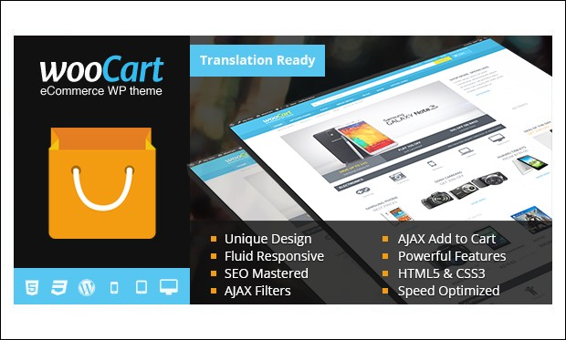 WooCart - Shopping Cart WordPress Themes