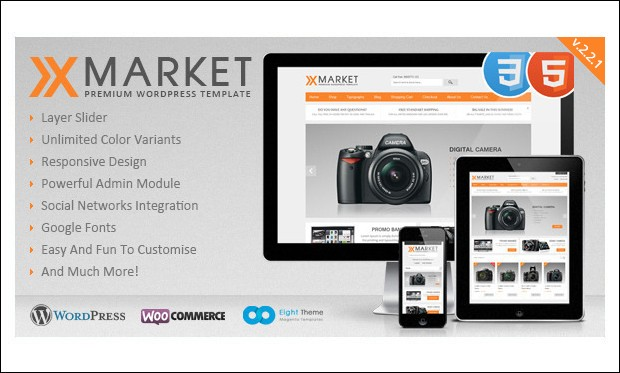 XMarket - WordPress Themes for Cloth Stores