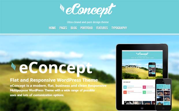 eConcept - Responsive HTML5 WordPress Theme