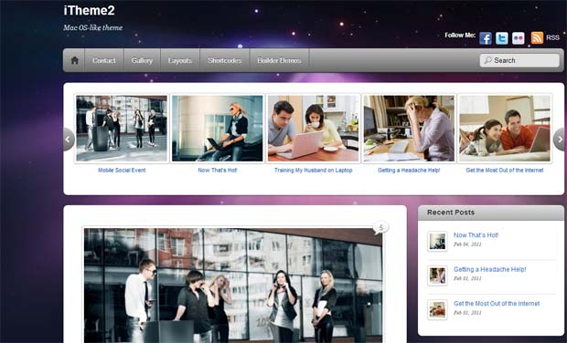 iTheme2 - Free Responsive WordPress Theme