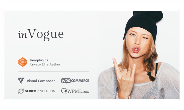 inVogue - WordPress Themes for Cloth Stores