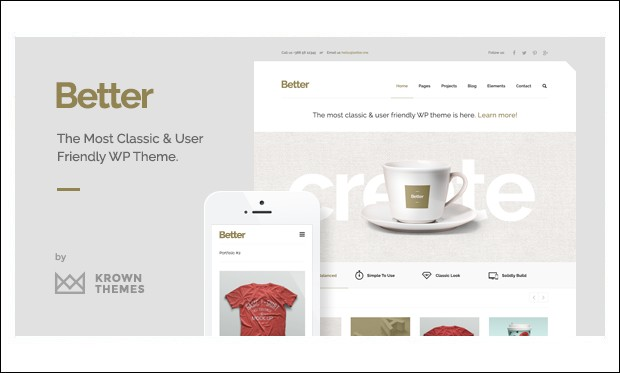 Better - Typography WordPress Themes
