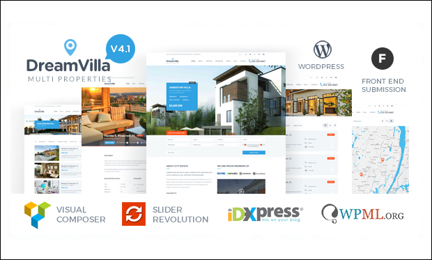DreamVilla - WordPress Themes for Real Estate