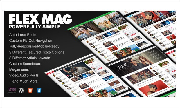Flex Mag - WordPress Themes for Sports Magazines