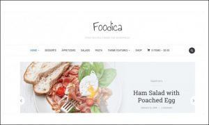 Foodica - WordPress Themes for Recipes and Food Websites