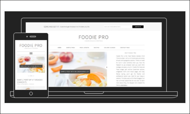 Foodie Pro - WordPress Themes for Recipes and Food Websites