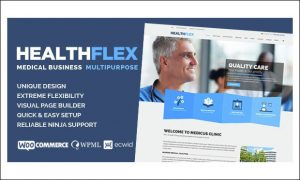 HEALTHFLEX - WordPress Themes for Hospitals
