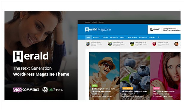 Herald - WordPress Themes for Sports Magazines