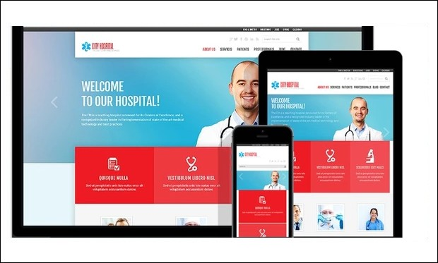 Medical - WordPress Themes for Hospitals
