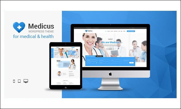 Medicus - WordPress Themes for Hospitals