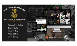 Northern Gentleman - Vintage Responsive WordPress Themes