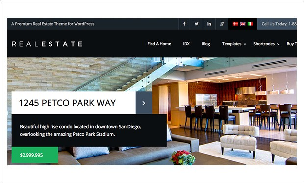 Real Estate 6 - WordPress Themes for Real Estate