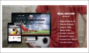 Real Soccer - WordPress Themes for Sports Magazines