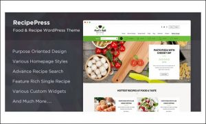 RecipePress - WordPress Themes for Recipes and Food Websites