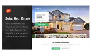 Solus - WordPress Themes for Real Estate