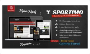Sportimo - Top 5+ Responsive WordPress Themes for Sports Magazines
