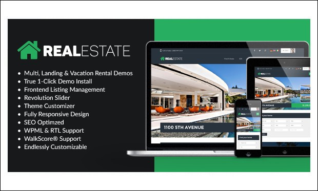 WP Pro Real Estate 7 - WordPress Themes for Real Estate
